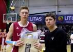 Meinarts un Pinnis iekļauti Latvijas U16 izlasē, startēs Baltijas kausā