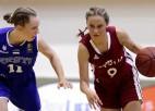 """Stepanova tuvojas """"triple-double"""", U15 meitenes zaudē un spēlēs par otro vietu"""