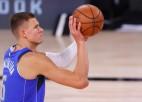 """Porziņģis līdz NBA sezonas sākumam vēl nebūs atgriezies """"Mavericks"""" sastāvā"""