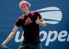 """Džokovičs un Zverevs """"US Open"""" sāks ar perfektām sērijām"""