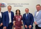 LFF vadība ar Šuplinsku pārrunā Latvijas futbola attīstības plānus