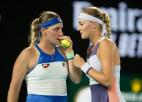 """""""US Open"""" dubultspēļu favorītēm Babošai un Mladenovičai turnīrs beidzies karantīnas dēļ"""