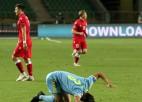Izlases apmainās rupjām kļūdām, Kazahstāna mājās uzdāvina uzvaru Baltkrievijai