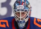 KHL nedēļas labākā vārtsarga titulu izpelnās 18 gadus vecais SKA pārstāvis