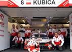 Kubica izcīna pirmo pjedestālu DTM (+video)
