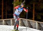 Matjuhins vienīgais no latviešiem simtniekā IBU kausa posmā biatlonā