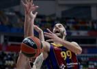 """Latvieši iemet tikai otrajā ceturtdaļā, <i>īsā</i> """"Barcelona"""" pārsteidz garo CSKA"""
