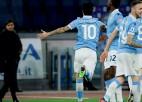 """""""Lazio"""" sagrauj """"Romu"""" un tuvojas līderiem"""