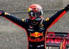 """Verstapens: """"Nevienam F1 pilotam mūsdienās nav sava braukšanas stila"""""""