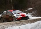 Ožjē pārņem vadību Montekarlo WRC rallijā
