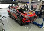 Tanaks par pārkāpumu Montekarlo WRC rallijā saņem nosacītu sodu