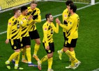 """""""Borussia"""" un """"Bayern"""" stabilas uzvaras, Leipciga minimāli pieveic """"Bayer"""""""