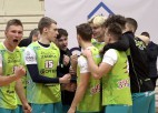 """Video: """"Jēkabpils Lūši"""" pārspēj """"Credit24'"""" volejbola Meistarlīgas vicelīderus"""