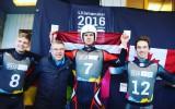 Foto: Aparjods iegūst zeltu pasaules jaunatnes olimpiskajās spēlēs