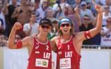 """Foto: Samoilovs un Šmēdiņš iegūst """"Grand Slam"""" zeltu Olštinā"""
