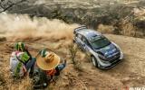 Foto: Meksikā startē pirmais grants WRC rallijs šogad