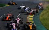 """Foto: F1 sezona iesākas ar """"Ferrari"""" komandas uzvaru"""