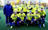 Foto: Sveiktas Latvijas labākās veterānu futbola komandas