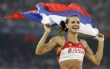 Isinbajeva emocionāli atvadās no cerības startēt Rio