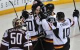 """Ja hokeju spēlētu """"uz papīra"""": Latvija - Vācija 1:7"""
