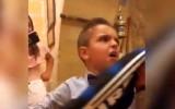 """Video: """"Juventus"""" mazais fans dzimšanas dienā saņem """"Inter"""" kreklu"""