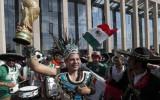 Meksikas līdzjutēju prieki izraisa nelielu zemestrīci Mehiko