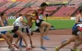 Video: U20 PČ šķēršļu skrējienā puišiem aizķeršanās