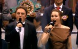 Ukraiņi neapmierināti ar Ukrainas himnas kvalitāti pirms Usika-Gasijeva mača