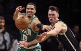 """""""Celtics"""" līderis Teitums: """"Neuztraucos par traumām, uztraucos par ģimeni"""""""