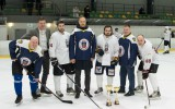 Saeima atzīst, ka hokeja mačā uzvaru dāvāja Valsts policijai