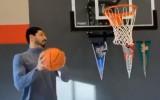 Video: NBA garākais spēlētājs tiek komiski atdarināts Kantera izpildījumā