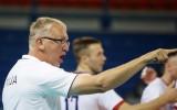 """Latvijas volejbola izlases treneris Kēls: """"Pretinieku šoreiz neatradām"""""""