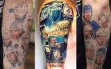 Līdz jaunajam gadam fans cer pabeigt Stenlija kausa ieguvēju tetovējumus