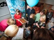 """Foto: Atklāšanas svētki mākslas galerijai """"Chaikovsky Art Studio"""""""