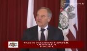 Video: Latvijas olimpiskā komanda viesojas pie Valsts prezidenta