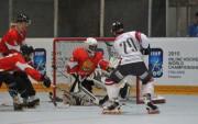 <i>Inline</i> hokeja izlase sakauj bulgārus, rīt izšķirošā cīņa par palikšanu