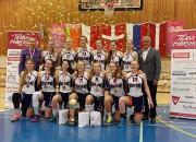 """20-0! """"Rīdzenes"""" kadetes Dānijā izcīna zeltu Eiropas līgā"""