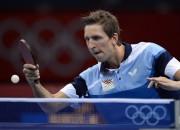 Latvijas galda tenisa līderis Burģis zaudē PČ pirmajā vienspēlē