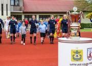Latvijas kausa pusfinālā uzvarētāju turpmāk noskaidros divu spēļu summā