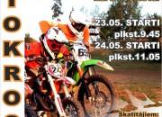 Latvijas motokrosa sezona turpinās Gulbenē