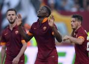 """""""Roma"""" uzvar derbijā un garantē vietu Čempionu līgā"""