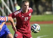 U21 futbolisti EČ kvalifikācijā Jelgavā uzņems Beļģiju