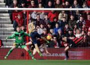 ''Arsenal'' pārspēj ''Bournemouth'' un pakāpjas uz trešo vietu