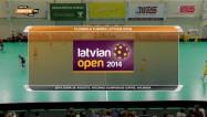 """Video: ''Rubene'' pēcspēles metienos zaudē """"Latvian Open 2014"""" finālā"""