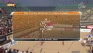 Video: Ozoliņa un Lece trīs setu mačā izcīna Latvijas čempionāta titulu