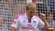 """Video: Rudņevam divas labas iespējas un zaudējums pret """"Hannover"""""""