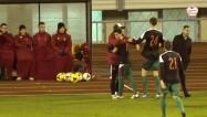 Video: J. Ikaunieks neapturams, ''Liepāja'' uzvar atklātā futbolā