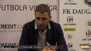 Video: Dobrecovs: ''Mēs vēl par kaut ko cīnāmies''
