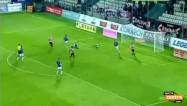 """Video: Rakels gūst """"Cracovia"""" uzvaras vārtus"""
