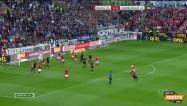 """Video: Rudņevs nopelna noraidījumu """"Mainz"""" aizsargam"""